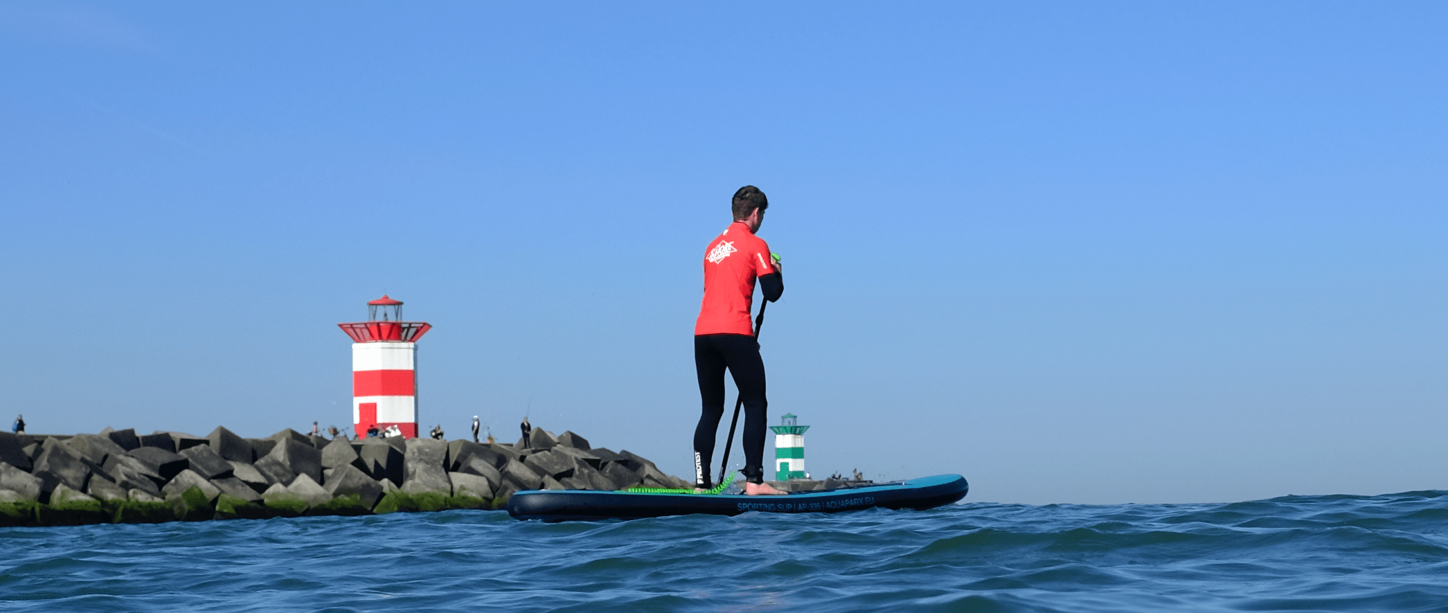 Stand up paddle surfen